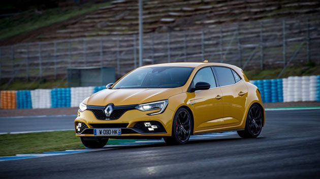 2018 Renault Megane RS 完整细节曝光,0-100仅5.8秒!