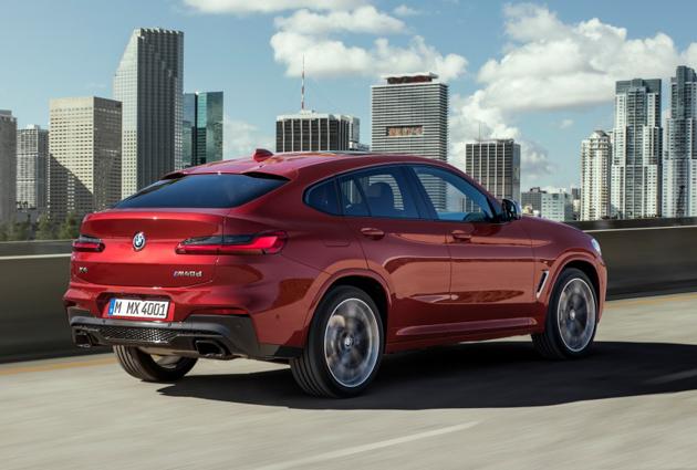 日内瓦车展: 新一代 BMW X4 展前现身!