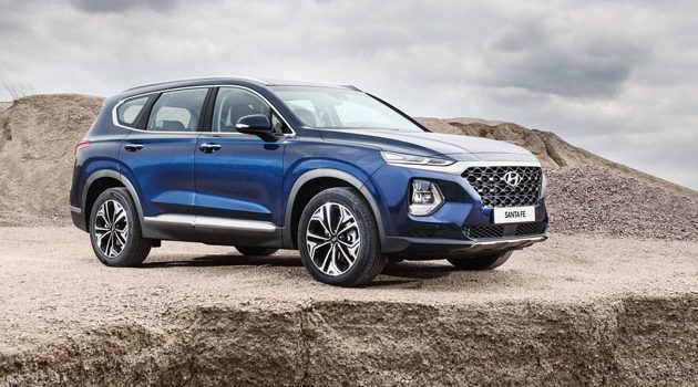 2019 Hyundai Santa Fe 帅气7人座SUV登场!