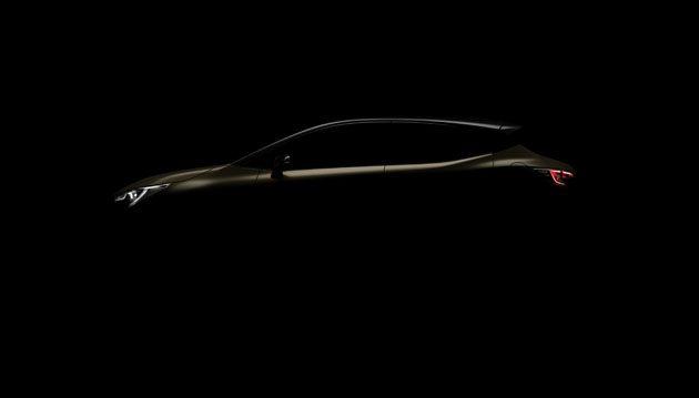 日内瓦车展: 2018 Toyota Corolla Hatchback 预告释出!