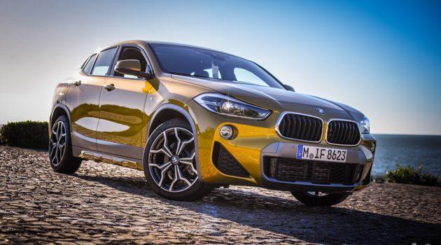 2018 BMW X2 试驾,一辆很好玩的Crossover!