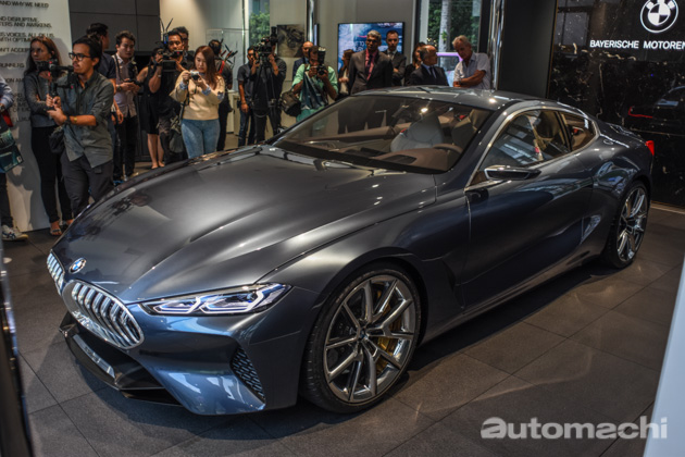 BMW 8 Series Concept 东南亚首发,现身大马旗舰展示厅!
