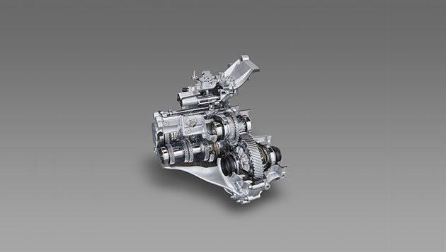 Direct Shift-CVT ,带有齿轮的CVT变速箱!
