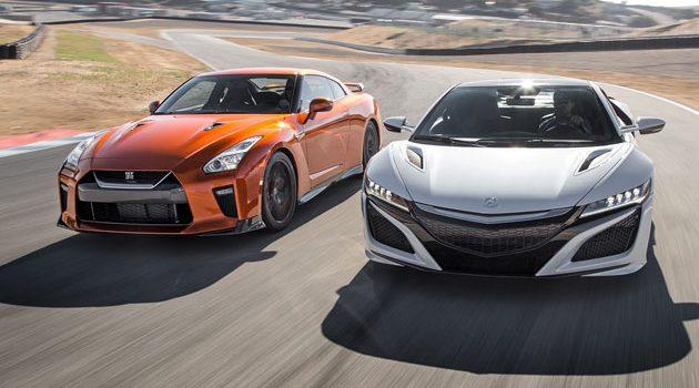 当东瀛法拉利 NSX VS GTR ,谁胜谁负?