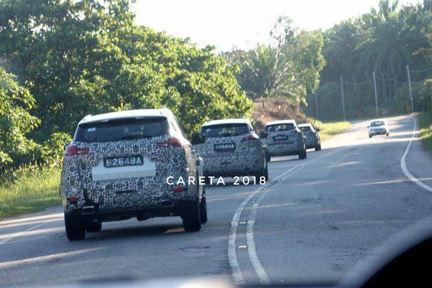Proton SUV 2018 路测谍照,年末震撼发布!