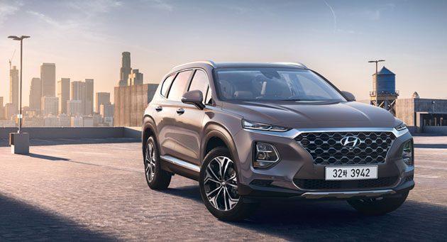 2019 Hyundai Santa Fe 正式登场!2.0L涡轮引擎入列!