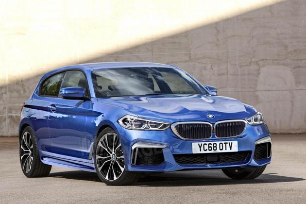 再见前驱! BMW 1 Series 现身测试!