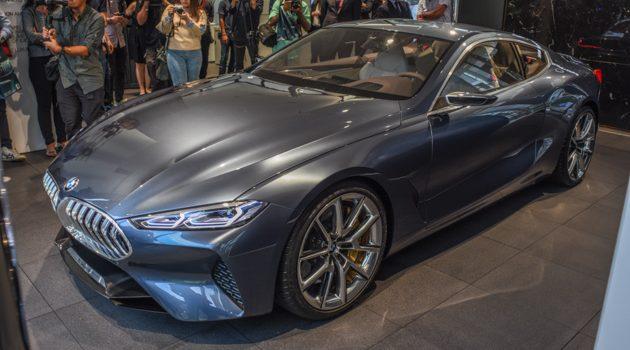 BMW 8 Series Concept 登陆大马,东南亚首发!