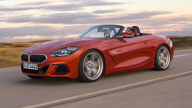 新一代 BMW Z4 造型曝光,9月亮相法兰克福车展!