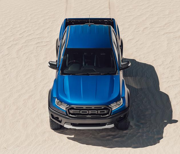 最大马力210hp, Ford Ranger Raptor 泰国正式发表!