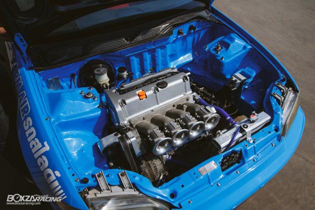 低调爆改, 316 hp 的两门 Honda Civic EG !