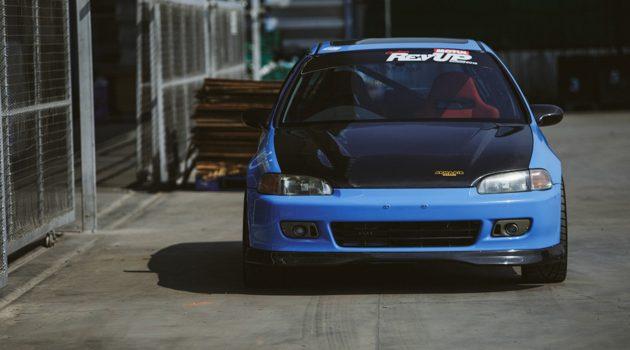 改装无罪, 316 hp 的两门 Honda Civic EG !