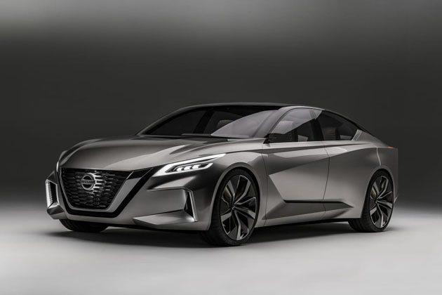2018 Nissan Altima 预告现身! 纽约车展发布!
