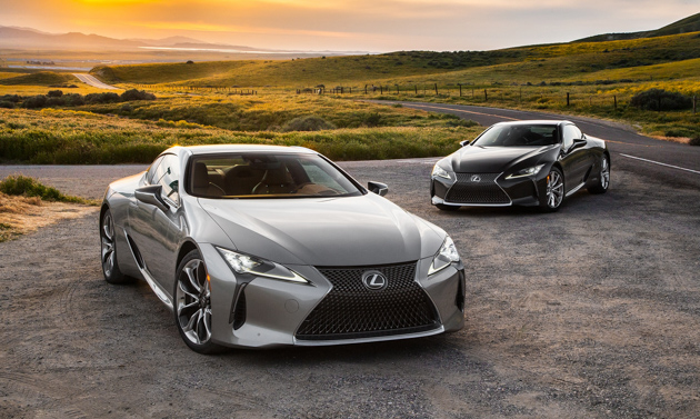 Lexus LC F 将在 3月登场,比 LFA 更强!