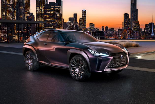 日内瓦车展: Lexus UX 确定3月6日发表!