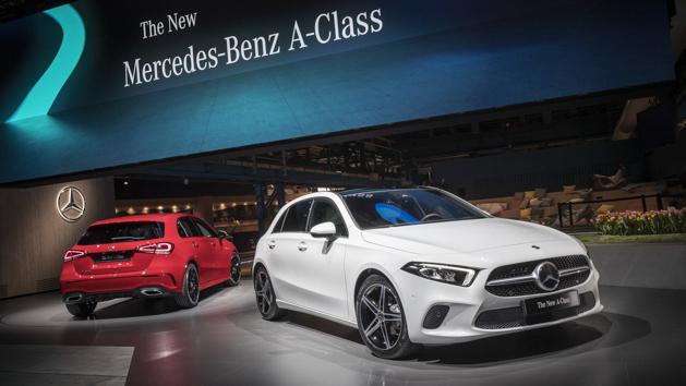 新一代 Mercedes-Benz A-Class 2018 正式揭开面纱! | automachi.com