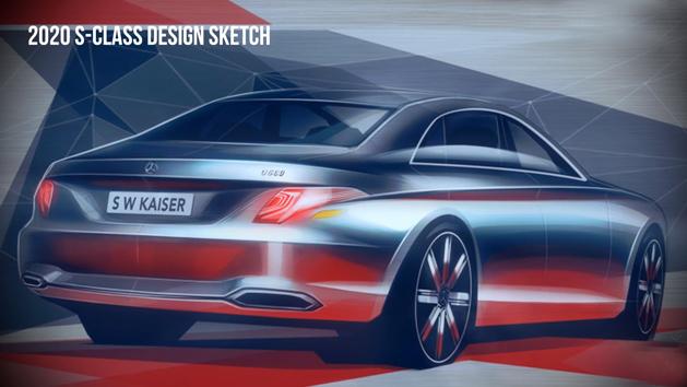 Mercedes-Benz S-Class 大改款曝光,2020年登场!