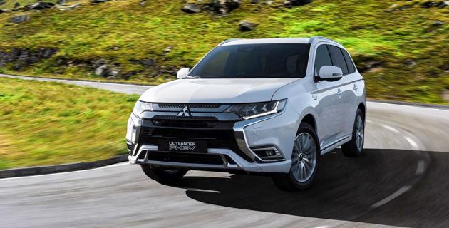 日内瓦车展:小改款 Mitsubishi Outlander PHEV 登场!