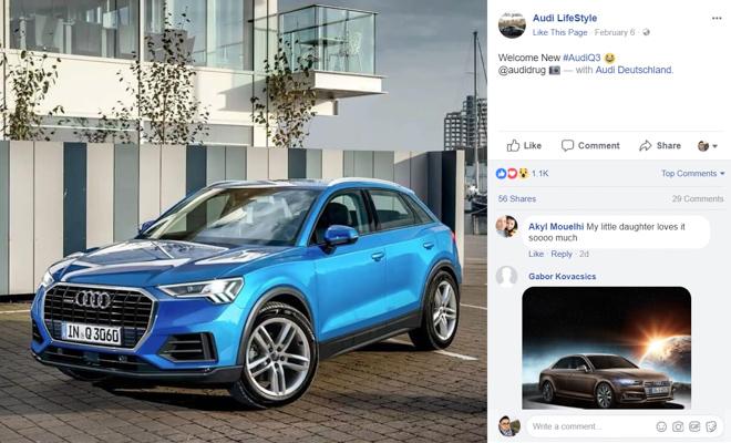 新一代家族设计,大改款 Audi Q3 样貌曝光!