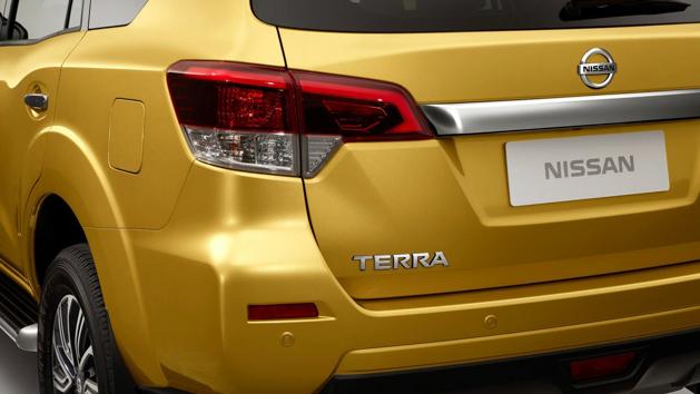 休旅版 Navara , Nissan Terra 正式发布!