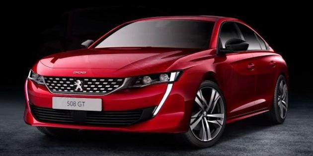 好帅气!新一代 Peugeot 508 官图曝光!