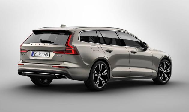 Volvo V60 正式发布,高颜值 wagon 一枚!