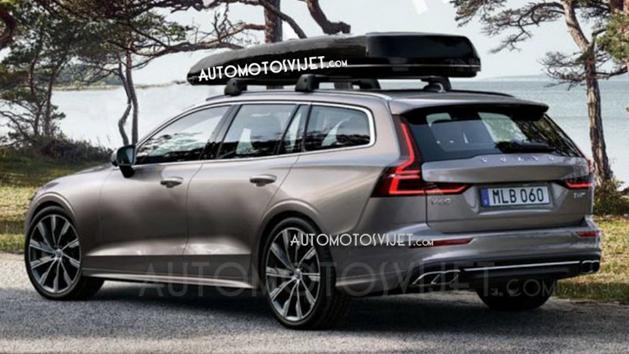 正式发布前夕, Volvo V60 外形曝光!