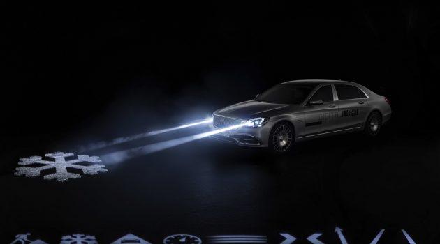 科技片情节成真! Mercedes-Benz 投产数码头灯组!