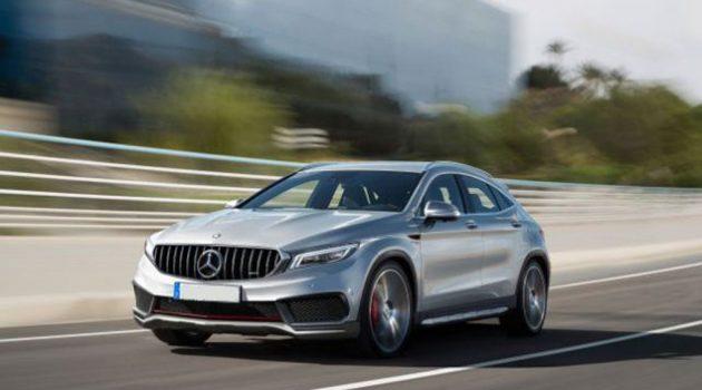 2019 Mercedes-Benz GLA 现身!挑高版的 A Class !