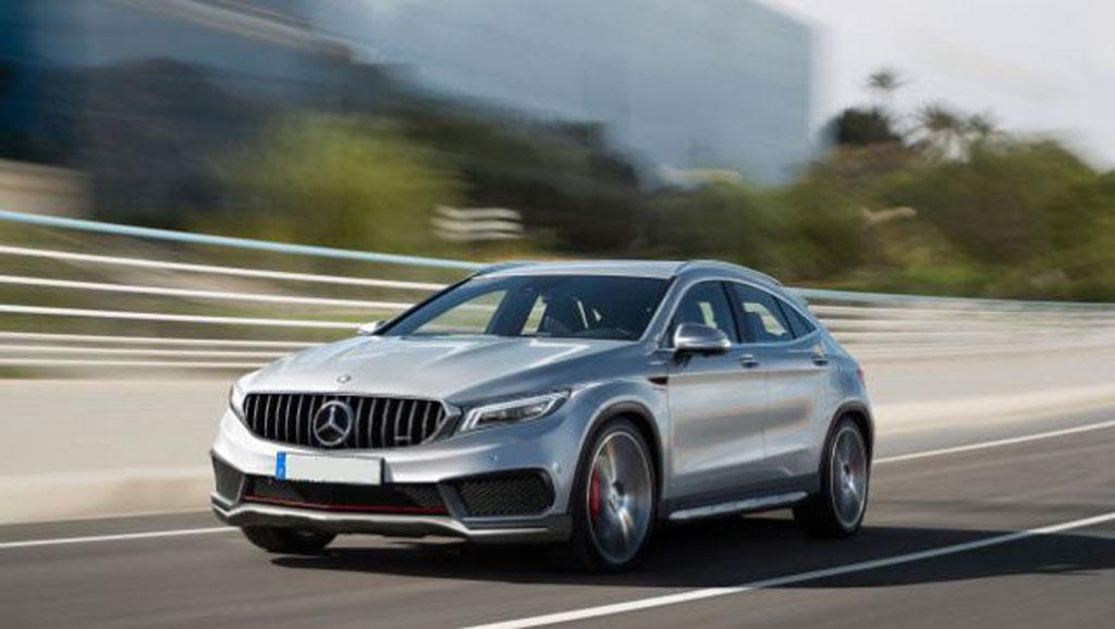 Mercedes Glc Coupe 2019 >> 2019 Mercedes-Benz GLA 现身!挑高版的 A Class ! | automachi.com