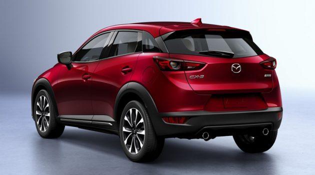 纽约车展: 2018 Mazda CX-3 小改款来临,今年抵马!