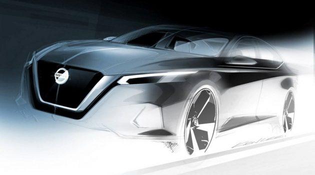 新一代 Nissan Teana 再度释出预告,变身运动房车!