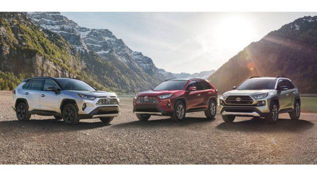 2019 Toyota RAV4 未来追加7人座及PHEV版本?