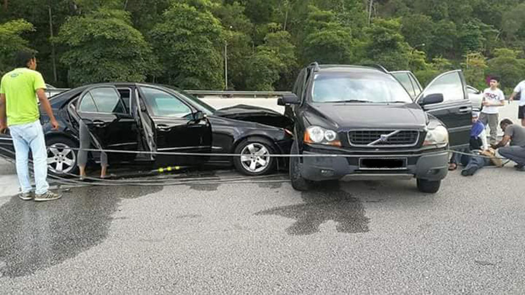 以后在马路上见到 Volvo 你真的要小心一点!