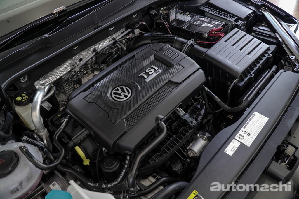2018 Volkswagen Golf MK7.5实车现身大马!