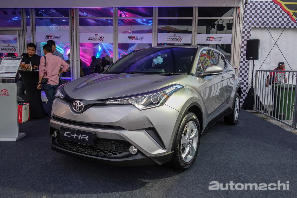 2018 Toyota C-HR 正式登陆我国,售价 RM 145,500!