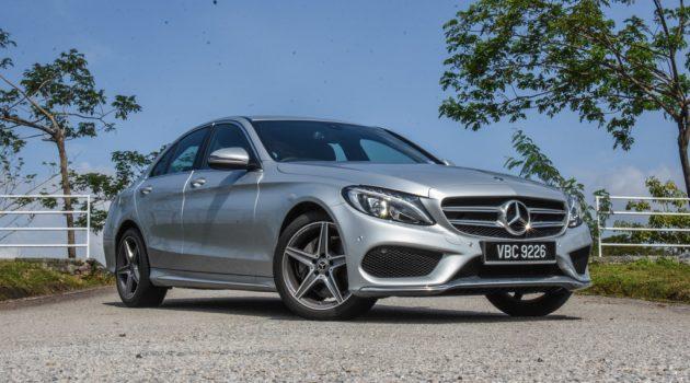 图库: Mercedes-Benz C200 AMG Line ,售价 RM 254,888 !