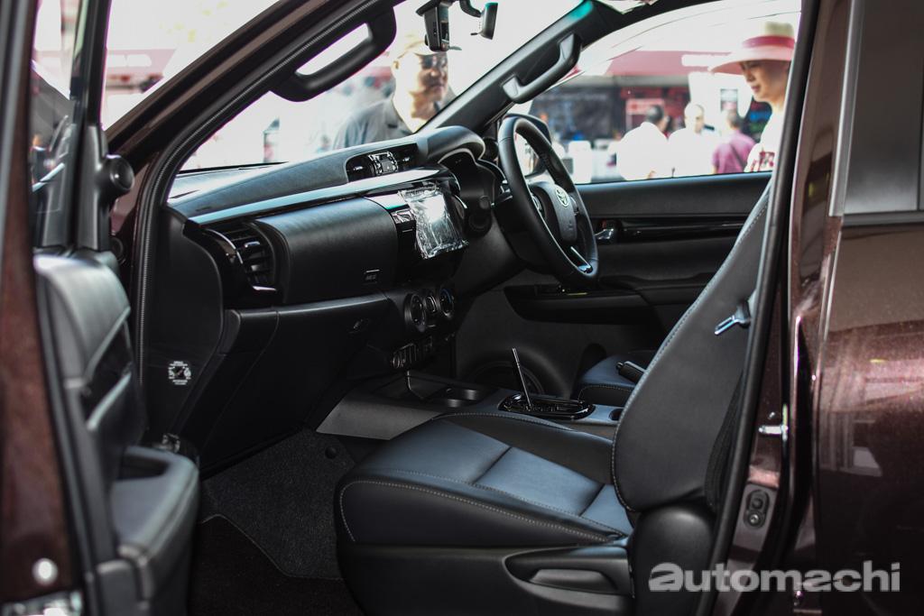 图库: Toyota Hilux L-Edition ,售价 RM 119,300 起跳!