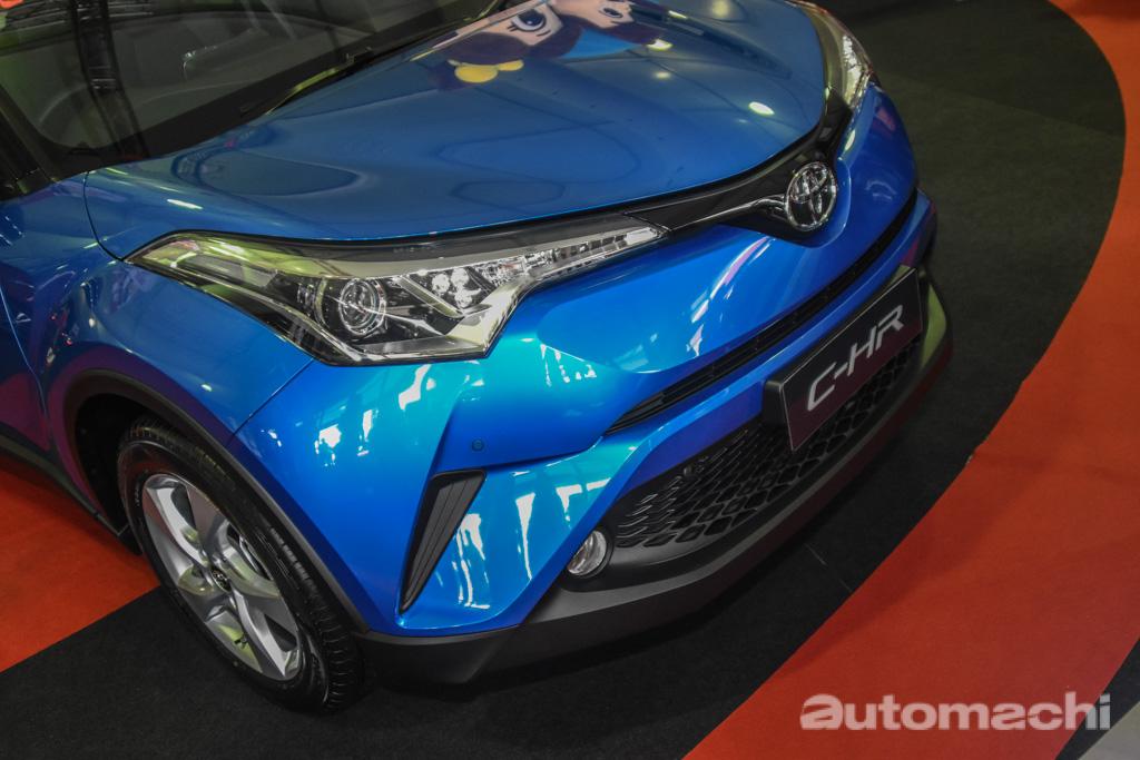 图库: 2018 Toyota C-HR ,售价 RM 145,500 !