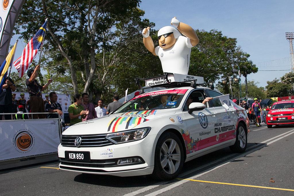 Volkswagen 成为环浮脚车赛赞助商!