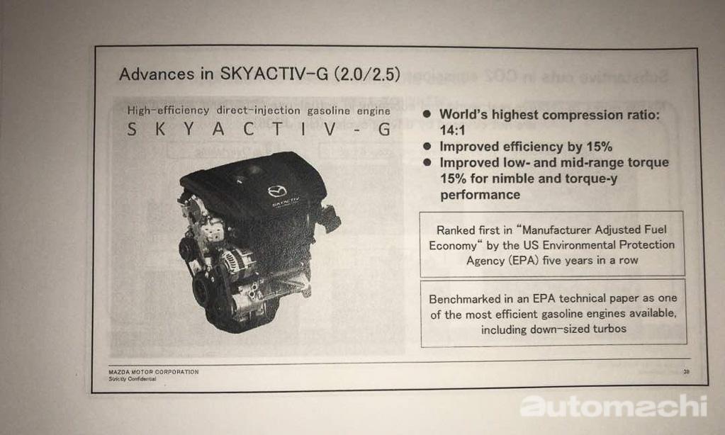 Mazda 未来计划曝光:新产品在路上,目前引擎还会继续强化!