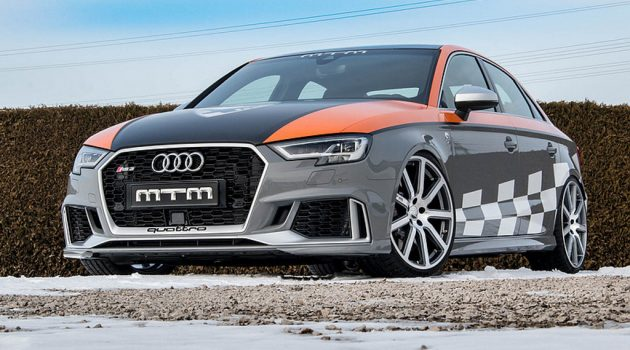 不让 ABT 专美, Audi RS 3 R Clubsport MTM 猛爆登场!