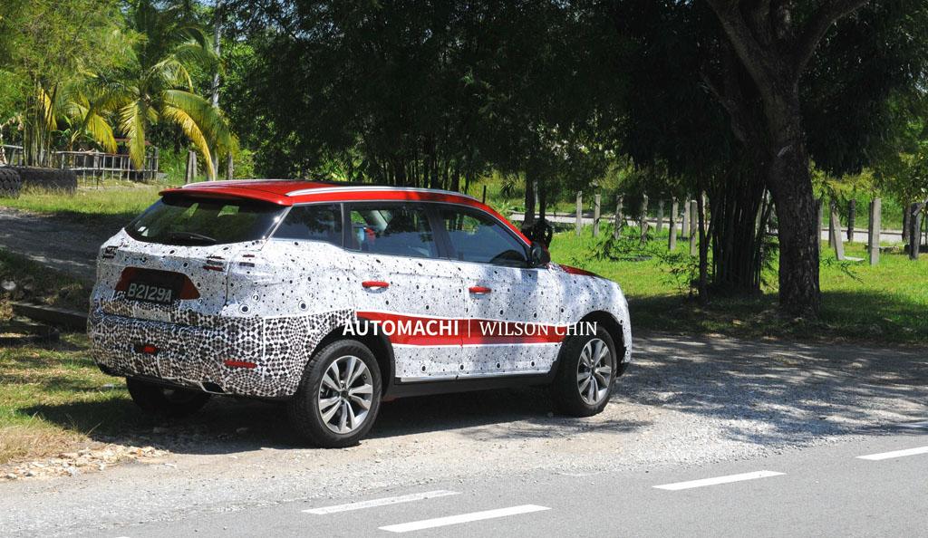 Proton SUV 或提供红色车色选项?