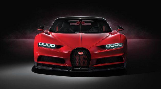 日内瓦车展: Bugatti Chiron Sport 正式登场!