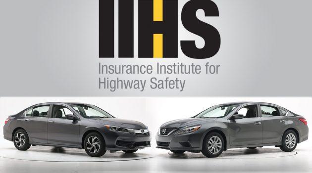 Honda Accord 与 Nissan Teana 谁更安全?