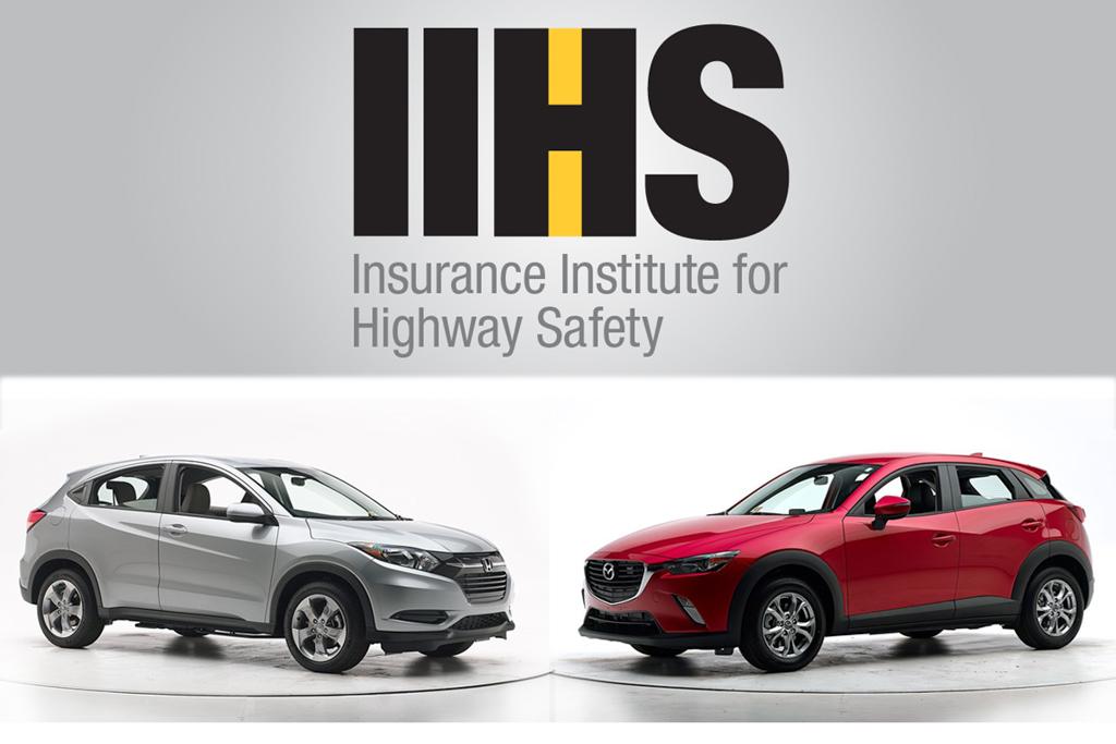 iihHonda HR-V 与 Mazda CX-3 谁更安全?s-honda-hr-v-mazda-cx-3-007