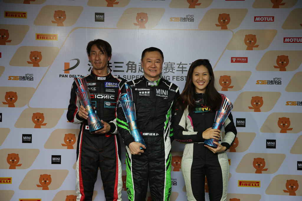 Leona Chin 成功登上 MINI Challenge Asia 领奖台!