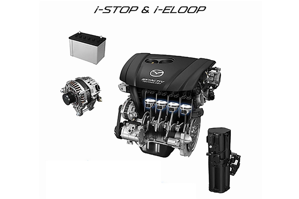 为了更省油, Mazda 计划采用锂离子启动电池!