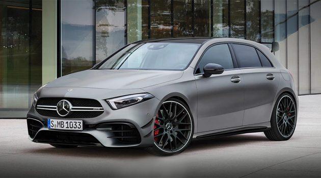 新一代 Mercedes-AMG A45 更多细节曝光,最大马力超过 400hp !
