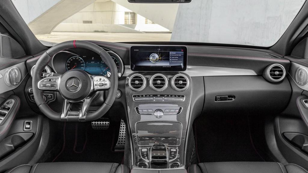 小改款 Mercedes-AMG C43 4Matic 正式登场,最大马力 385 hp !